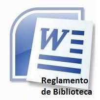 Reglamento de Biblioteca Institucional